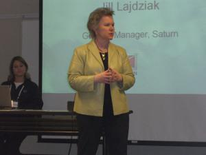 Jill Lajdziak at 2006 Saturn Brand Advocate Meeting