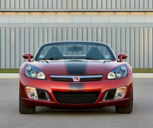 2009 Saturn Sky Red Line Ruby Red Limited Edition