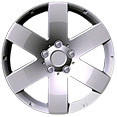 "Saturn Vue 17"" 6-Spoke Alloy Wheel"