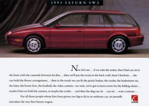 Flashback Friday: Saturn Introduces the SW Wagon