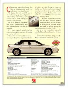 Flashback Friday: 1994 Saturn SL2 Homecoming  Sedan