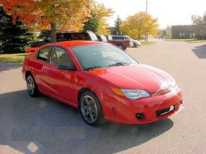 On the Auction Block: 2004 Saturn Ion Red Line (Red)
