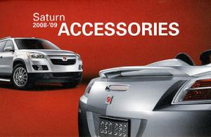 2008-09 Saturn Accessories Catalog