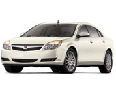 2010 Saturn Aura Painted White Diamond Tricoat