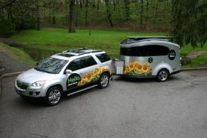 Saturn Outlook and Solar-Powered Mobile Events Trailer