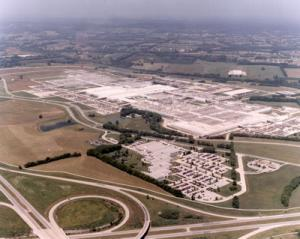 Aerial Photo of the Former Saturn Plant