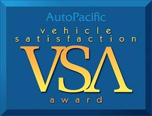 AutoPacific Vehicle Satisfaction Awards
