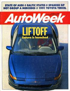 Flashback Friday: Saturn SC on the Cover of AutoWeek