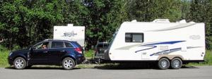 2009 saturn vue with rv trailer. Black Bedroom Furniture Sets. Home Design Ideas