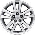 "Saturn Aura 17"" Twin-Spoke Machined Alloy Wheels"