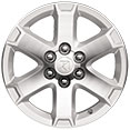 18-inch Machined Aluminum Wheels
