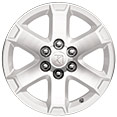 "Saturn Outlook 18"" Painted Aluminum Wheels"