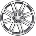 "Saturn Outlook 20"" Machined Painted Spoke Wheels"