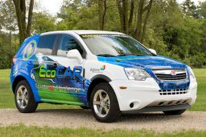 Eco-Engineers from Ohio State University Win Gold at 2009 EcoCAR Competition with Modified Saturn Vue