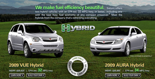 Saturn Hybrids