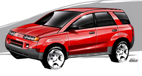 Saturn Vue Preview Sketch Saturnfans Forums