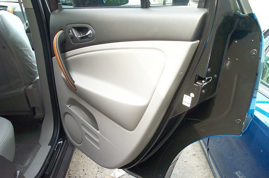 Passenger Side Back Door