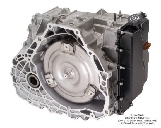 Hydra-Matic 2007 6T70 (MH2) Six Speed FWD Automatic Transaxle