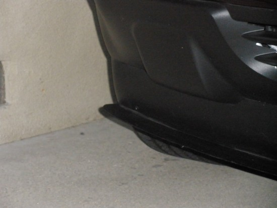 0 Front Spoiler, Carbon Fiber for Outlook