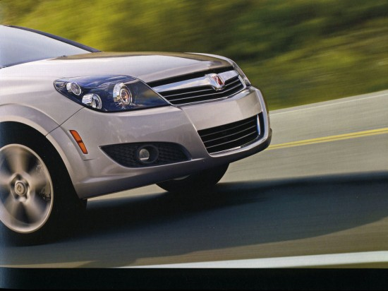 2009 Saturn Astra Brochure