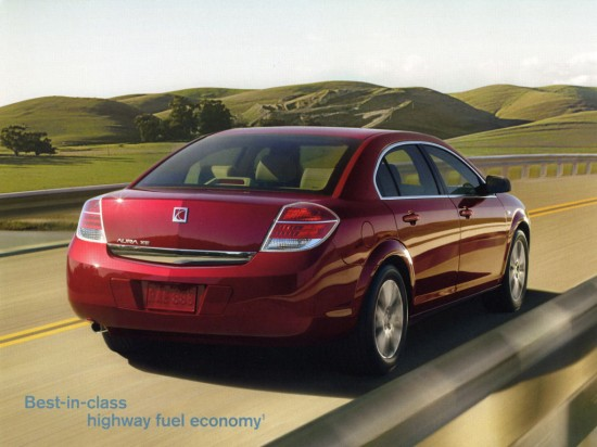 2009 Saturn Aura Brochure