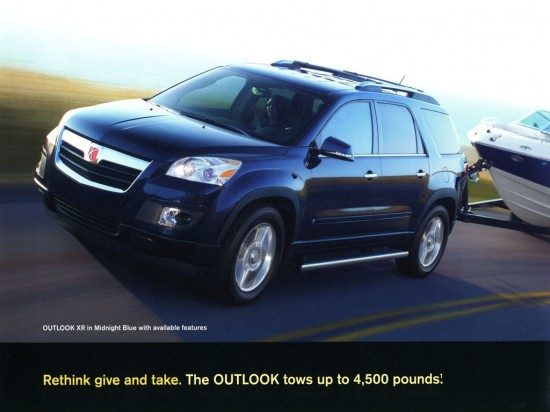 2009 Saturn Outlook Brochure
