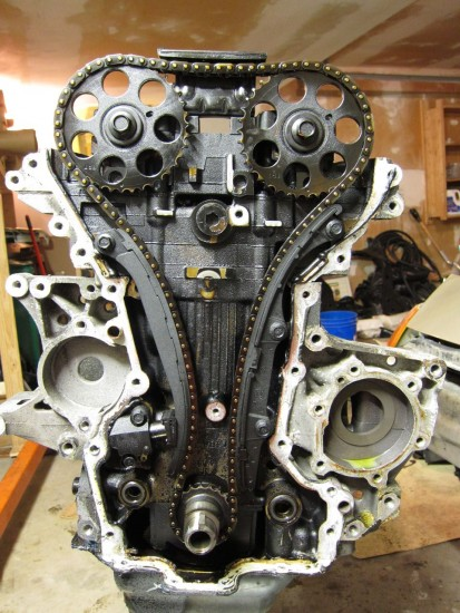 Timing chain - Rebuild of 95SC2(Betty)
