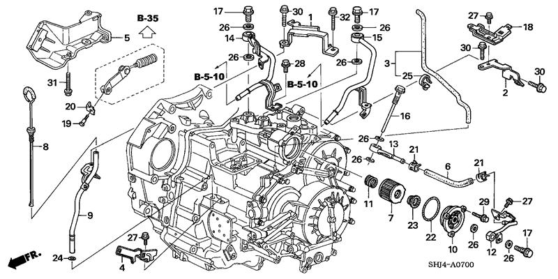 2000 Honda Odyssey Engine Diagram Wiring Diagram