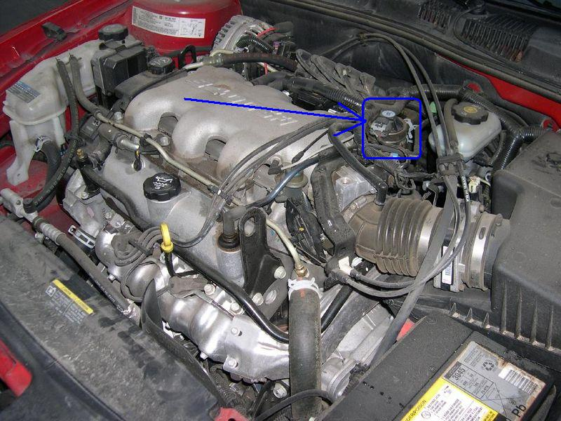 Pontiac 3400 Engine O2 Sensor Location on 1980 toyota vacuum line diagram