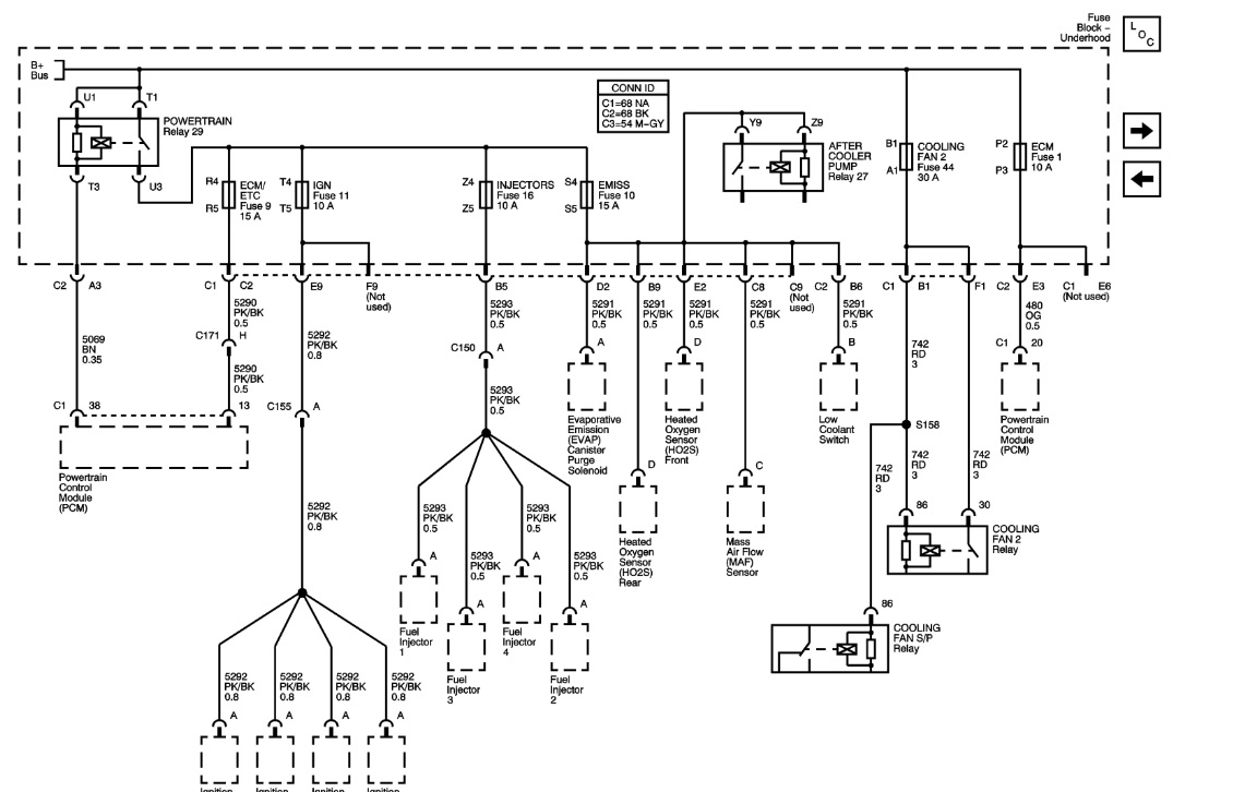 2003 Saturn Vue Bcm Wiring Diagram