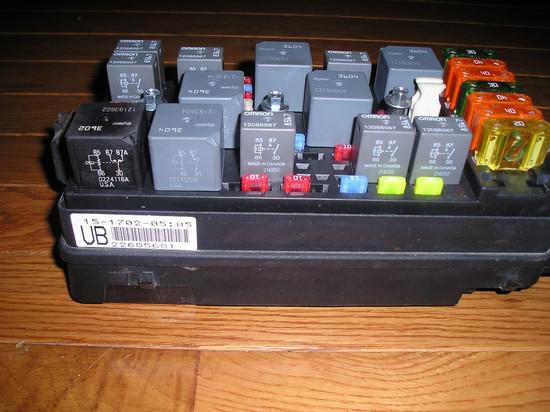 2003 4CYL fuse box