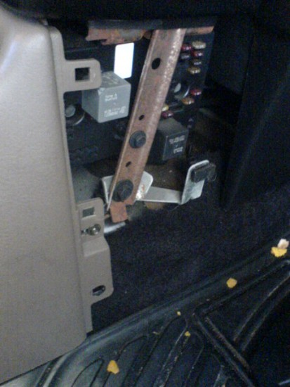 replacing parking brake handle assembly saturnfans forums