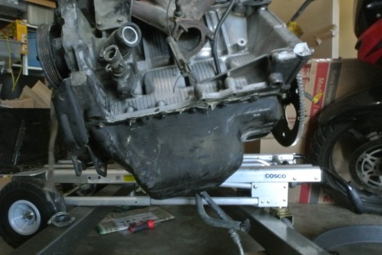 Junk Yard Engine, 1st Cleaning