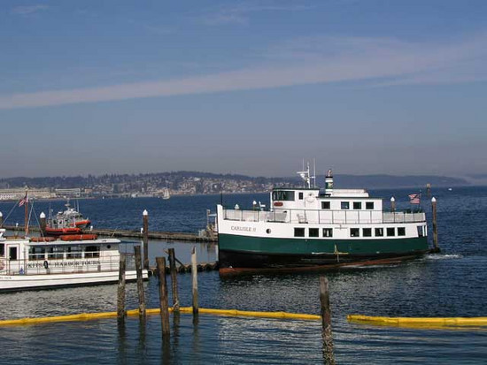 Foot Ferry from Port Orchard to Bremerton Washington