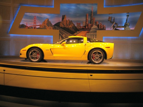 On display at GM's Test Track, Epcot, May 2006