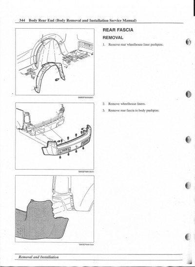 bumper cover removal instructions
