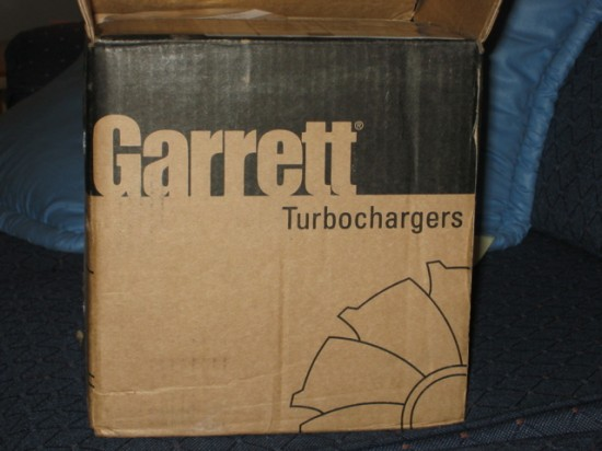 Fresh and new turbo in the box