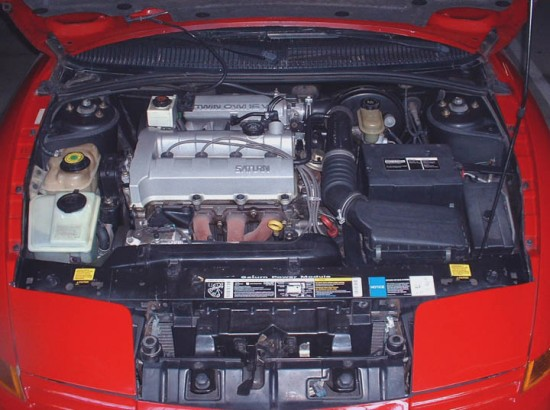 1992 SC - Engine bay