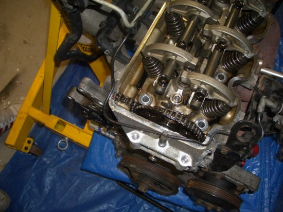 Step 4 how to remove a timing chain