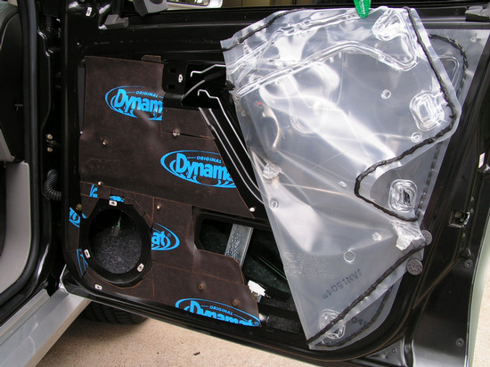 Passenger Door - Dynamat