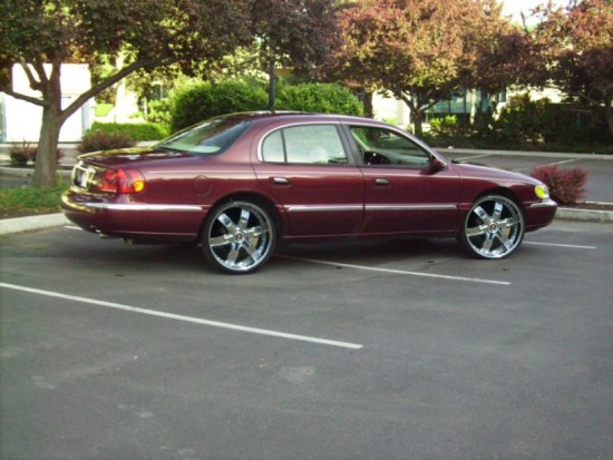 My 2000 Lincoln Continental