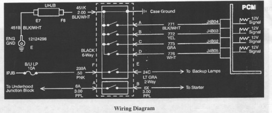 Park Neutral Wiring Diagram